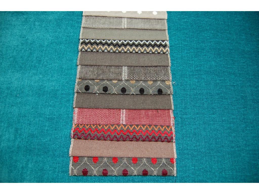 Tinta unita in lino e cotone per tappezzeria piedipull