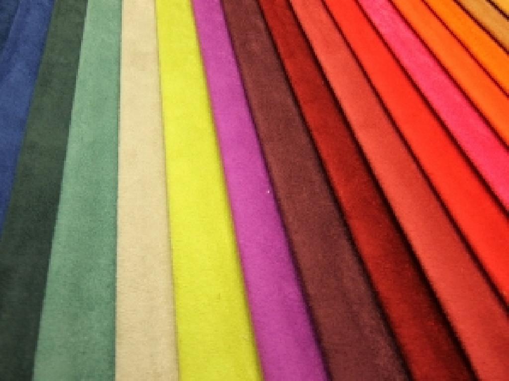 Tessuto in microfibra lavabile disponibile in diverse colorazioni