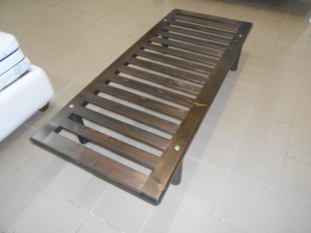Letti In Legno Massello : Reti letto reti in legno massello codice 1802 u003e rete letto in