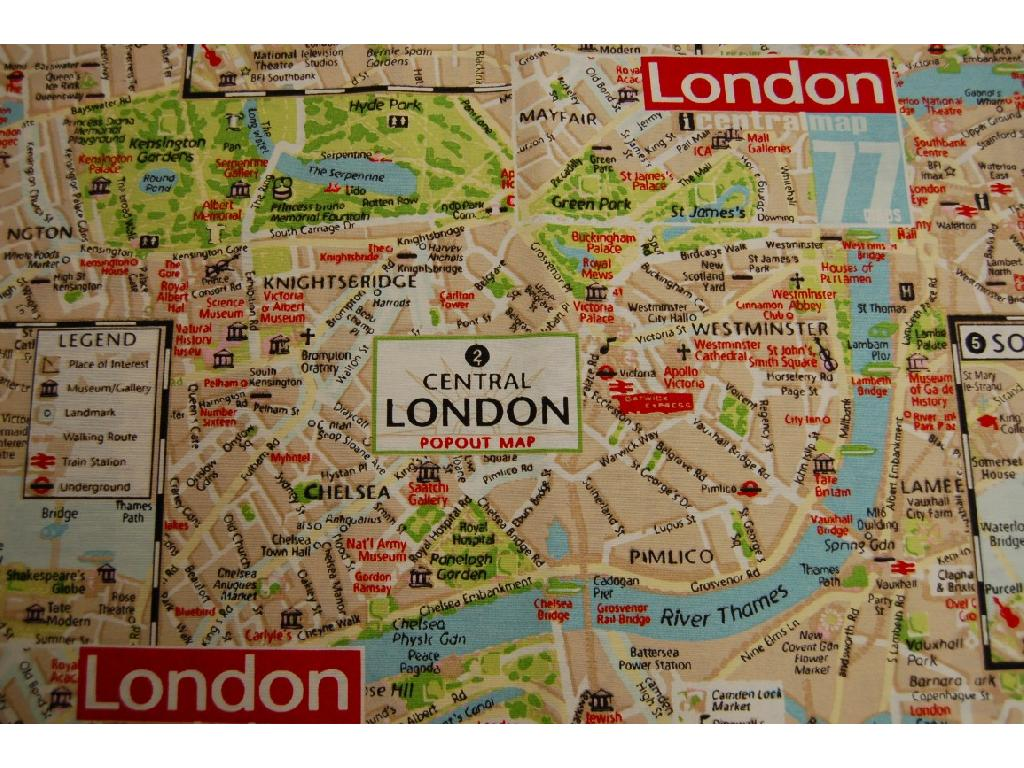 Tessuto stampato disegno piantina metropolitana